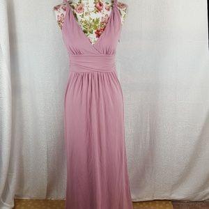 f5d5dcb0e48ea J. Crew Dresses | J Crew Promenade Lavender Jersey Maxi Dress | Poshmark